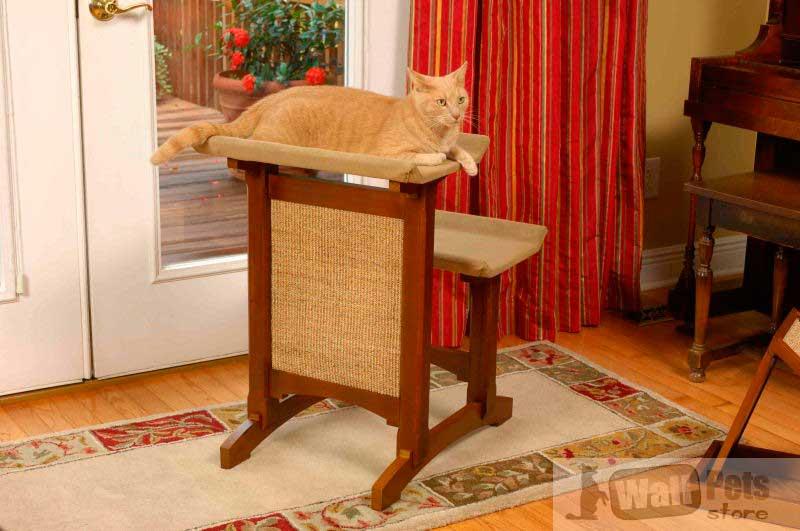 Домик для кошки (когтеточка для кошки, дом кошки- двойной де люкс)