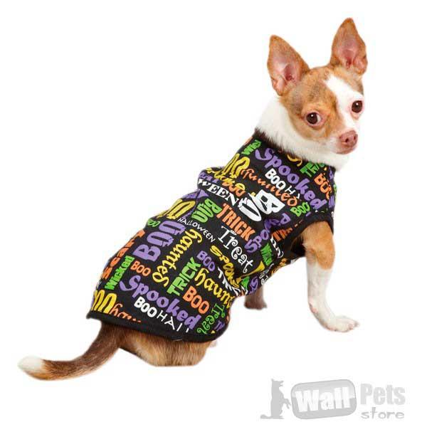 Плащ с трафаретной печатью для собак(одежда для собак)