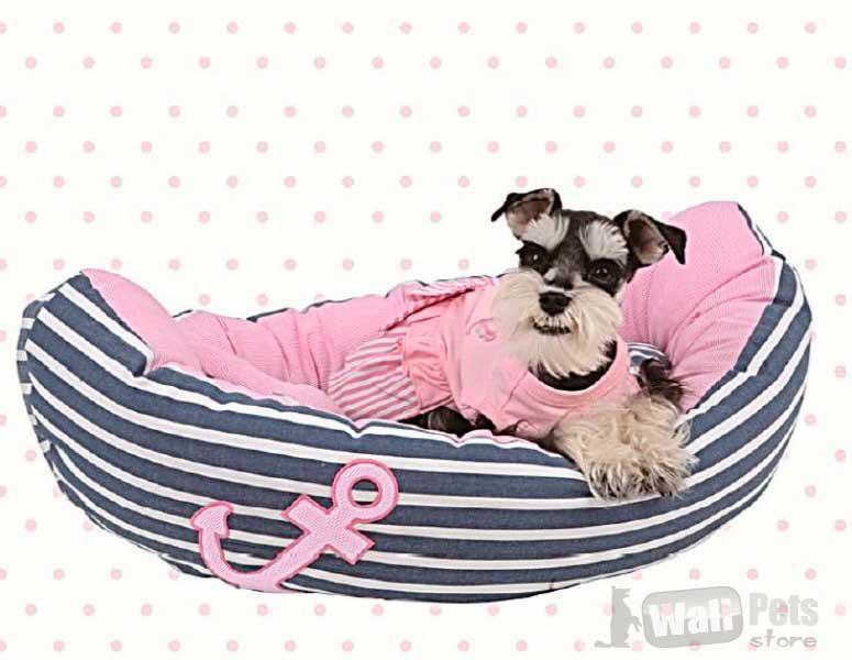 Лежак для собак в морском стиле