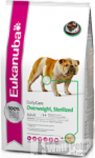 Eukanuba Dog Adult Daily Care для собак стерилизованных и склонных к лишнему весу/
