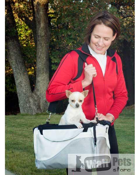Переноска для собак, переноска для кошек, комфорт (вело корзина для собак)