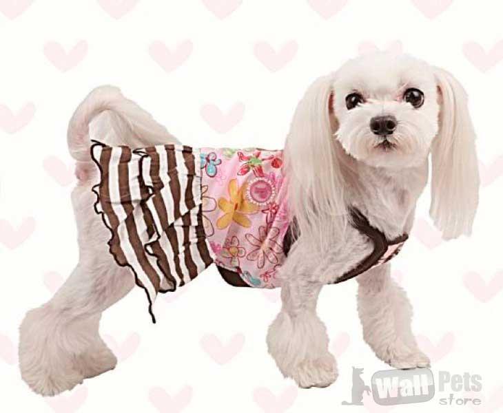 Платье для собак пикник
