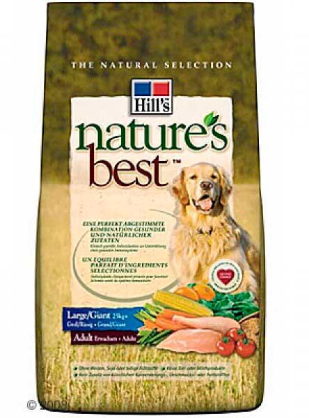 Nature's Best для взрослых собак крупных пород