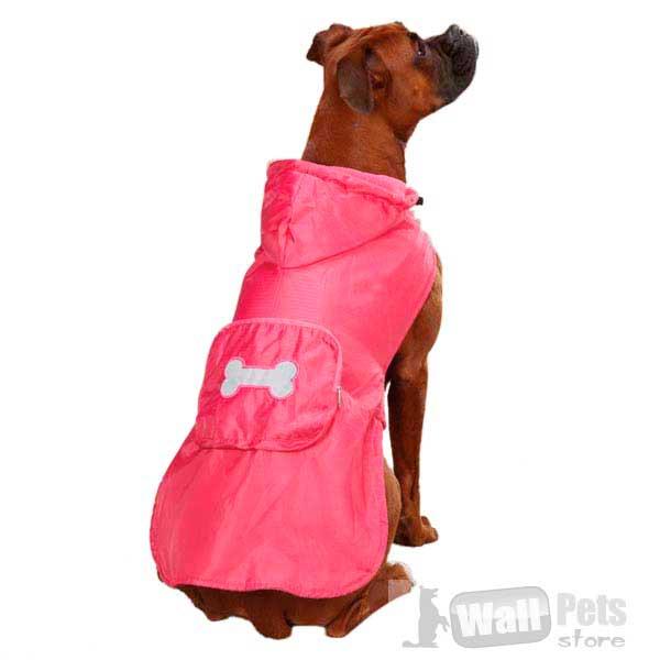 Дождевик для собаки на флизовой подкладке. М размер