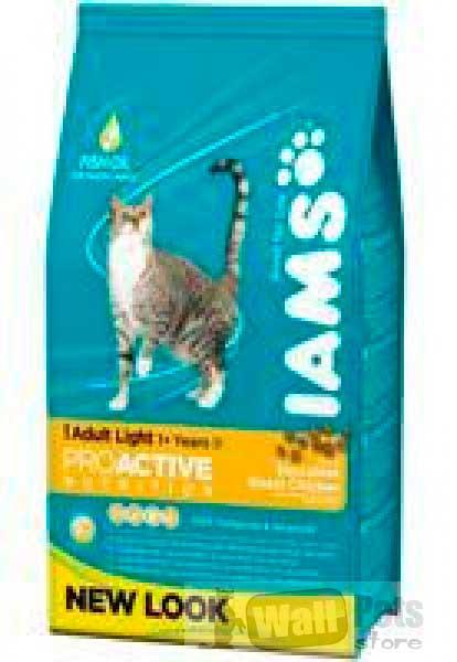 Облегченное питание для взрослых кошек