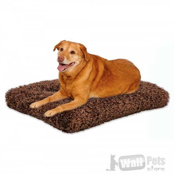 Плюшевая лежанка для собак, кошек