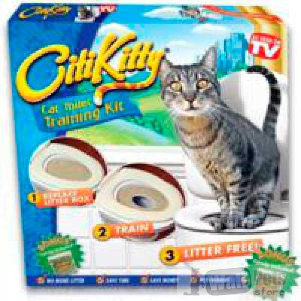 Набор для приучения кошек к туалету CitiKitty