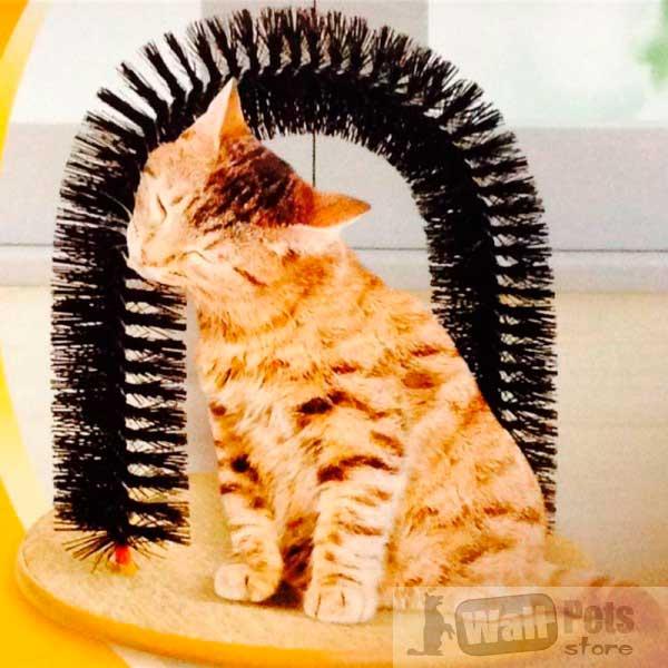 Арка - массажер, расческа, лежак для кошек