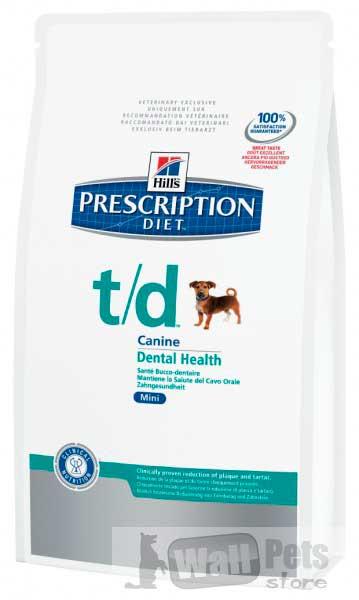 Hill's Хиллс Prescription Diet™ диета собак мелких пород T/D лечение заболеваний полости рта