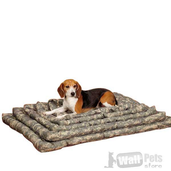 Лежак для собак камуфляж, больших размеров