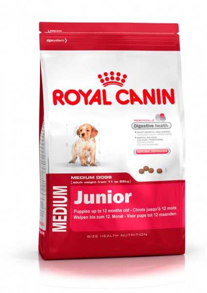 Royal Canin, Роял Канин для щенков средних пород: 2-12 мес (Medium Junior 32)