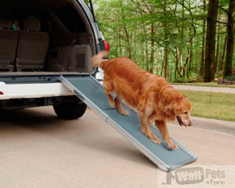 Делюкс телескопический пандус для собак