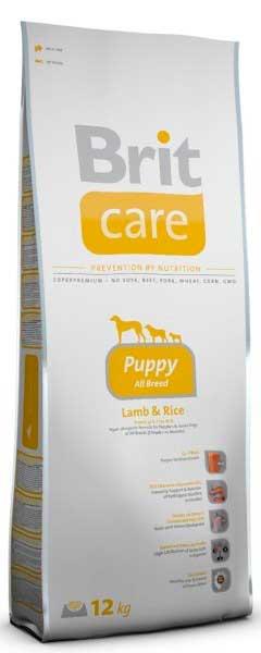 Brit Care для щенков до 25 кг с ягненок и рис