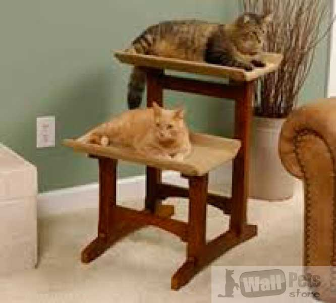 Дом кошки (лежак для кошки, дом кошки- двойной)