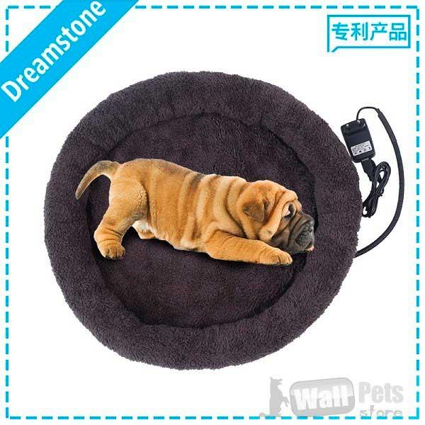 Лежак для кошек и лежак для собак круглый