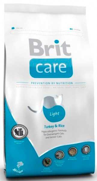 Brit Care с лишним весом и для пожилых кошек