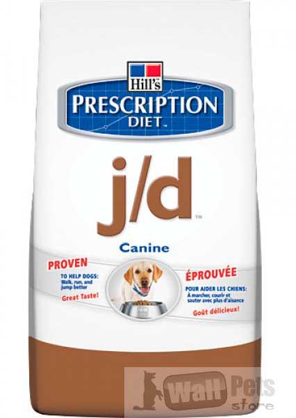 Hill's Хиллс Prescription Diet™ J/D для собак лечение суставов (Mobility Canin)