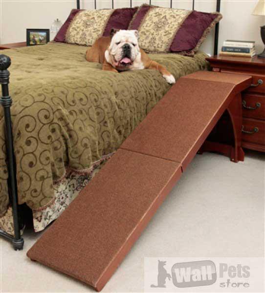 Деревянный пандус для собак