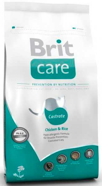 Brit Care стерилизованных кошек профилактика МКБ