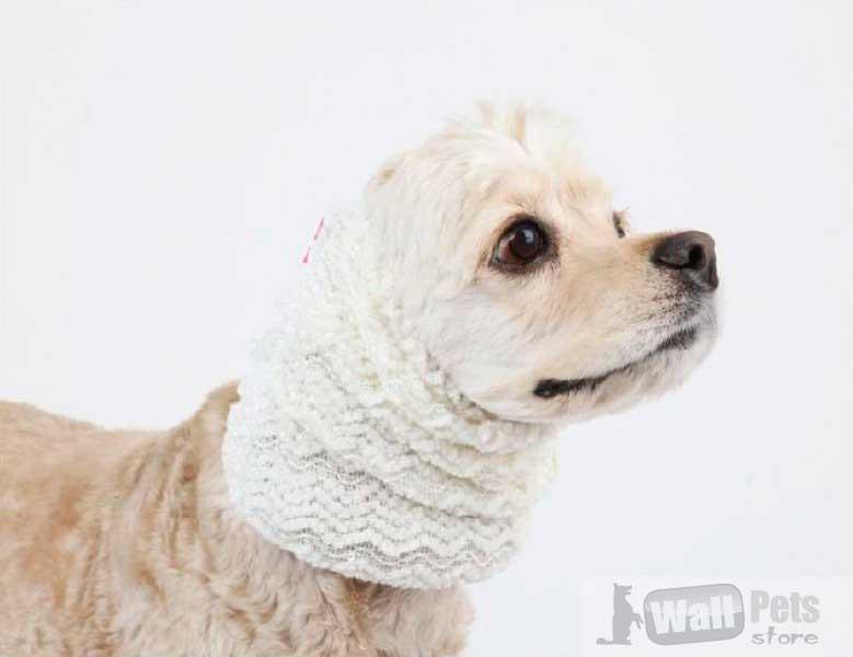 Шапка  вязаная для собак